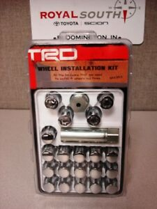 Toyota TRD Wheel Lock Lug Set 14mm Conical Spline Drive
