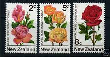 New Zealand 1971 Rose Convention SG967/9 MNH