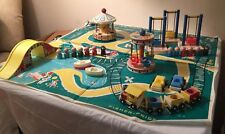 Vintage Fisher Price Little People Amusement Park #932 Complete Set 1960s & More