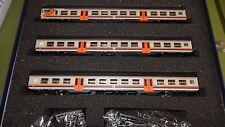 Vitrains 1098 Set pilota TE con interc. +2 car. MDVC 2a cl. beige fasce arancio