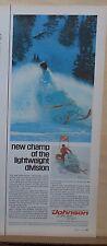New listing 1969 magazine ad for Skee-Horse Lightweight snowmobiles - Hot power, Slim frame