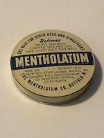 Vintage Mentholatum Tin Buffalo, NY