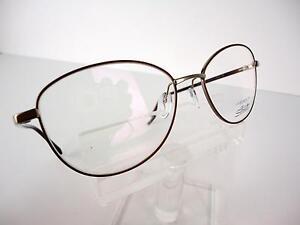 Silhouette Legends 3505 6053 Brown 54 X 17 130 mm Eyeglass Frame