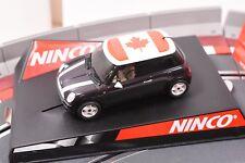 "50309 NINCO 1/32 SLOT CAR MINI COOPER "" CANADA"""
