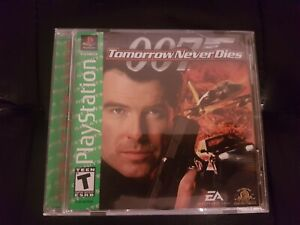 007: Tomorrow Never Dies [Greatest Hits] [PS1] [PSX] [PlayStation 1] [Complete!]