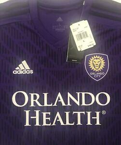 ORLANDO CITY HOME JERSEY Men's Soccer Regal Purple GE5909 Size Large