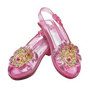 Disguise Inc - Disney Aurora Kids Sparkle Shoes One Color One Size
