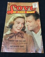 Love at First Sight # 43 comic book Silver Age 1956 Romance Photograph Cover