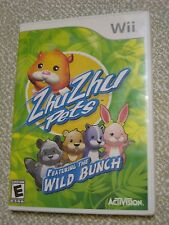 Wii Zhu Zhu Pets Activision game Nintendo Wii
