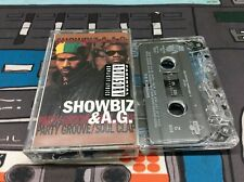 Showbiz & Ag - Party Groove / Soul Clap Ep Cassette Tape 1992! Tested! Works!