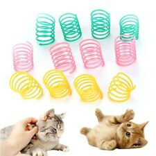 Interactive Cat Toy Spring Supplies Pet Toys Colored Plastic Spring Pet Toys Col