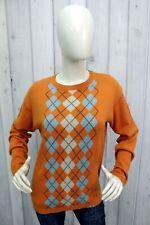 BURBERRY Taglia XL Maglione Donna Cotone Sweater Woman Pullover Pull Casual