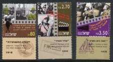 Israel 1130-2 + tabs MNH First Hebrew Films
