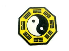 Yin Yang Bagua Embroidered Airsoft Paintball Cosplay Patch