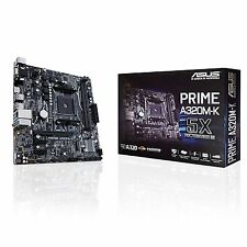 Asus PRIME A320M-K AMD Socket AM4 A320 DDR4 MATX HDMI Desktop PC Motherboard