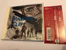 MINNESOTA CLAY (Piero Piccioni) OOP 1965 Japanese Soundtrack Score OST CD NM