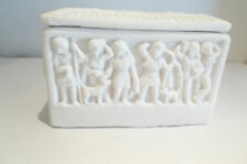 Sarcófago beinkästchen romano figuras piedra pomez tallaré? Vintage