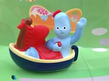 In The Night Garden Iggle Piggle In His Boat Wheel Along Toy - Ideal Cake Topper