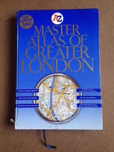 A-Z Master Atlas Of Greater London 2007 Hardback Colour
