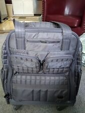 """Lug Quilted Puddle Jumper """"Wheelie"""" 19""""x16""""x9"""" - brand new in box"""