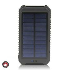 Solar Energy Charger For Iphone Android Cell Phone Backpacking Portable Hiking