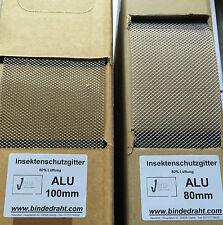 Alu Insektenschutzgitter Insektenschutz Dach 80mm Vogelschutzgitter