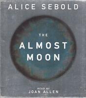 Alice Sebold The Almost Moon 8CD Audio Book Unabridged Joan Allen FASTPOST