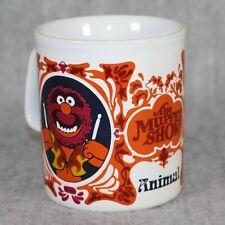 THE MUPPET SHOW Animal Henson 1979 Kiln Craft England Mug Cream Vintage Cup Rare