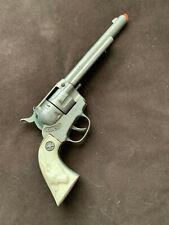 New ListingVintage Metal Toy 1950's Hubley Cowboy Model Cap Gun Longhorn Cattle Grips
