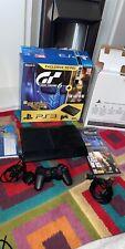 PS3 Super Slim Boxed Console Last Of Us / Gran Turismo 6 Premium