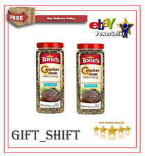 Tone's Canadian Steak Seasoning 28 oz ( pack of 2 ) Free Shipping