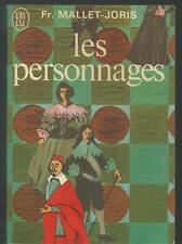 Les personnages.Françoise MALLET-JORIS.J'ai Lu K003