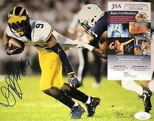 Donovan Peoples Jones Michigan Wolverines Signed 8x10 Autograph Photo Coa Jsa N1