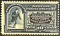 E5 10c US Special Delivery, Mint, OG, H, Fine/VF