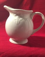 Tabletops Unlimited China Versailles- Off White  Pattern Creamer