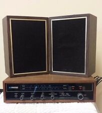 VINTAGE ROSS  AM/FM MULTIPLEX STEREO RECEIVER W/ SPEAKERS TESTED