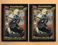 1992 Topps Finest #41 Leon Searcy Rookies 2 Pittsburgh Steelers Football Cards