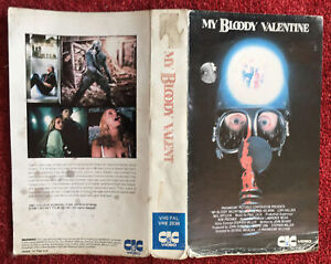 MY BLOODY VALENTINE 1981 PRE CERT SLEEVE ONLY CIC VHS PAL