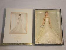 NEW (Read) Carolina Herrera Bride Barbie Gold Label Collector Doll wedding dress