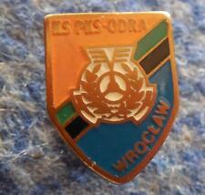PKS ODRA WROCLAW POLAND FOOTBALL FUSSBALL SOCCER 1960's RARE SMALLER SCREW PIN