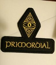 PRIMORDIAL Patch Embroidered Irish FOLK BLACK METAL Fast Delivery
