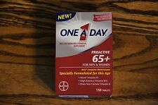 One A Day Proactive 65 Plus Men & Women-Multivitamins, 150 Count -Free Shipping