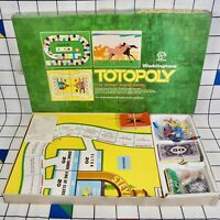 Vintage Waddingtons Totopoly Great Race Game Board Game 1972 Missing Lease Cards