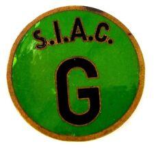 Spilla S.I.A.C. G, (C. Paccagnini Milano) Diametro cm 3,5