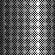 Mild Steel Perforated Sheet 2m x 1m x 3.0mm R15 T20 Bin 72-500130085