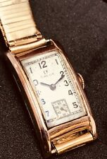 Rare Omega Solid Rose Gold Curvex With JB Champion Bracelet We Have More Omegas