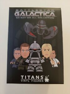 "OFFICIAL BATTLESTAR GALACTICA SSWA TITANS RANDOM VINYL FIGURE 3"" BOXED BRAND NEW"