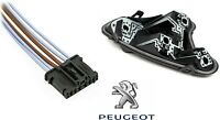 GENUINE PEUGEOT 308 Rear Tail Light Bulb Holder + Wiring Loom Harness RIGHT ONLY
