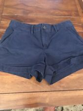 Women's Gap Twill Summer Shorts In Navy, Size 2