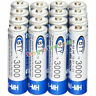 16x AA battery Bulk Nickel Hydride Rechargeable NI-MH 3000mAh 1.2V BTY US Stock